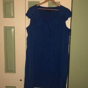 Beautiful sleeveless blue dress
